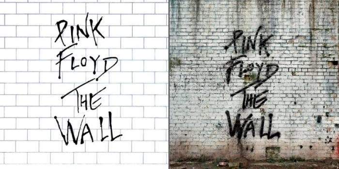 "Capa do álbum ""The Wall"", do Pink Floyd"