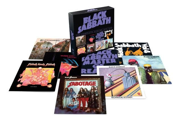 "O box ""The Vinyl Collection 1970-1978"", do Black Sabbath"