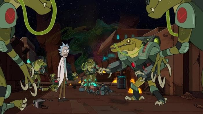 "Cena da quarta temporada de ""Rick & Morty"""