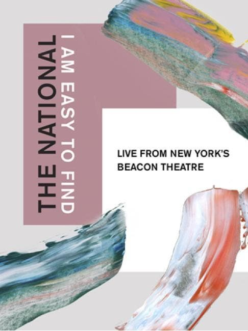"Divulgação de ""The National: I Am Easy To Find - Live From New York's Beacon Theatre"""
