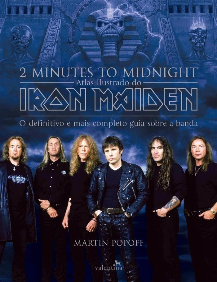 2 Minutes to Midnight: Atlas Ilustrado do Iron Maiden