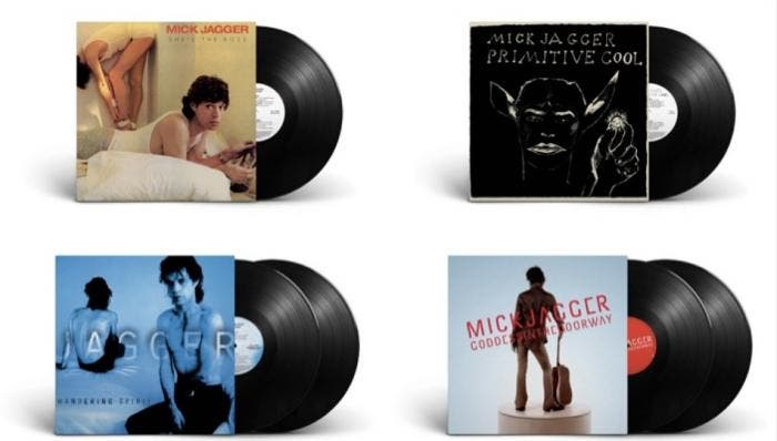 Os discos são She's The Boss (1985), Primitive Cool (1987), Wandering Spirit (1993) e Goddess In The Doorway (2001)