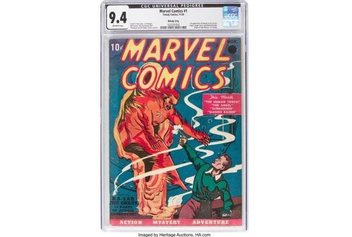 Marvel Comics No. 1