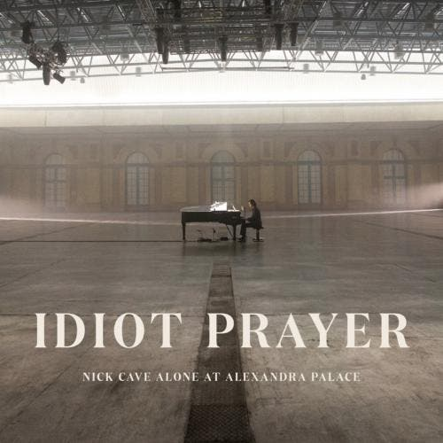 """Idiot Prayer - Nick Cave Alone at Alexandra Palace"" está disponível em CD, vinil e formato digital"