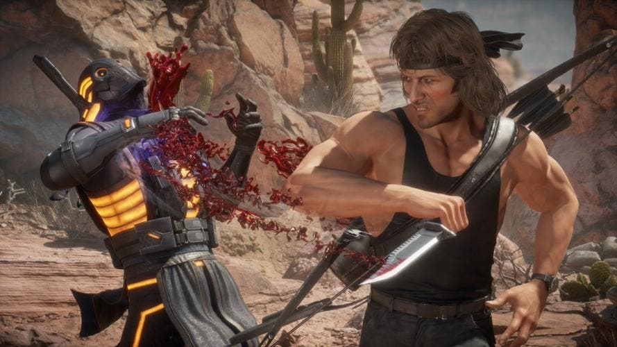 "Rambo é o novo personagem do jogo ""Mortal Kombat 11: Ultimate"""