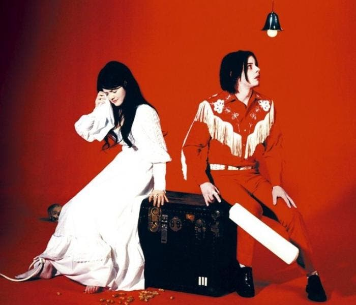O White Stripes marcou o blues-rock e o rock alternativo no começo dos anos 2000