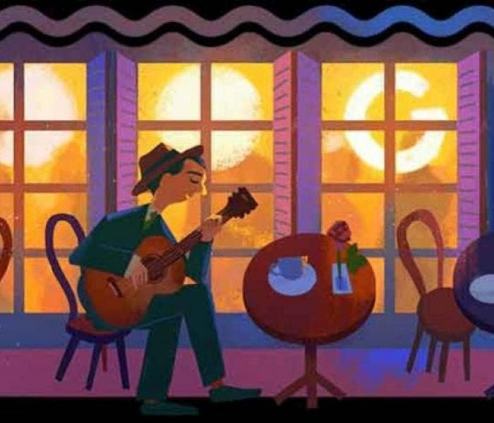 Doodle do Google homenageia Noel Rosa