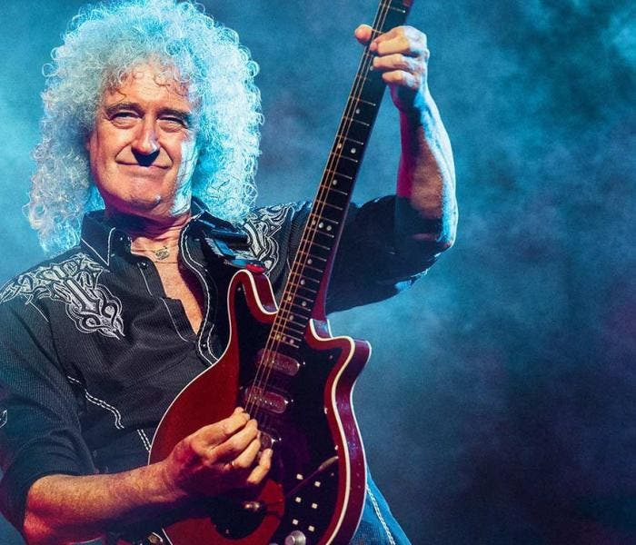 Brian May, guitarrista do Queen