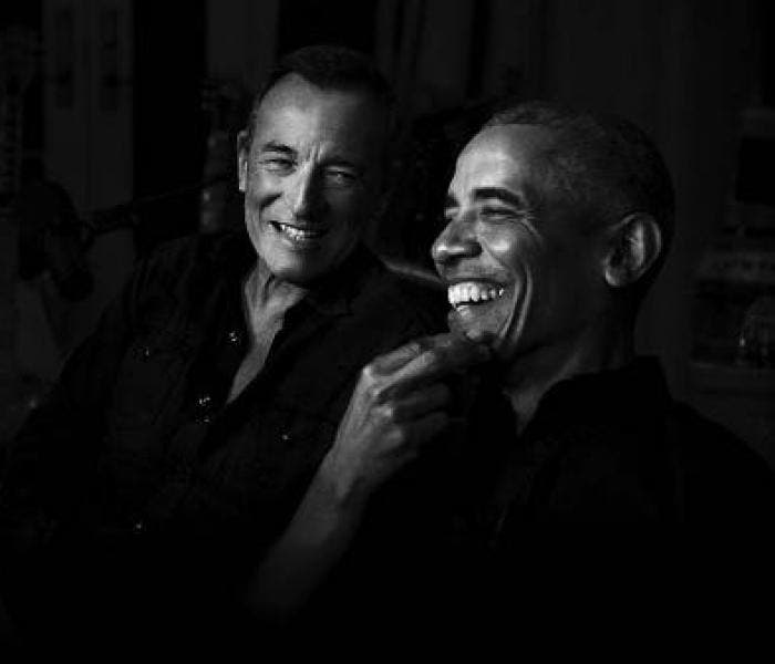 Barack Obama e Bruce Springsteen