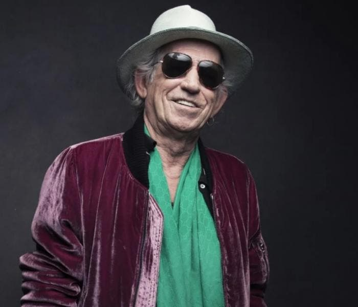 Keith Richards, guitarrista dos Rolling Stones
