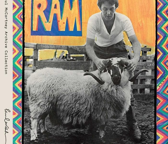 RAM, Paul McCartney, Linda McCartney