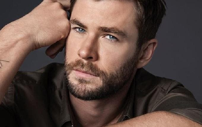 Chris Hemsworth played Thor, produced by Marvel Studios.