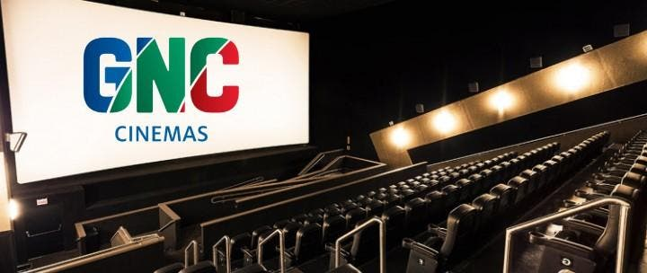 Imagem interna do GNC Cinemas