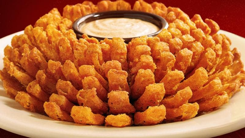 Bloomin' Onion do Outback Brasil