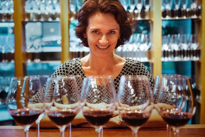 Sommelier Marcia Amaral