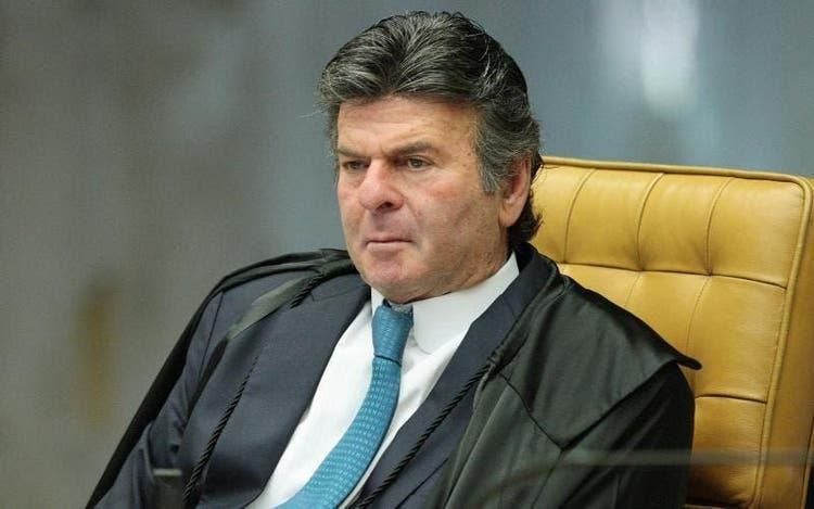 Presidente do STF (Supremo Tribunal Federal), ministro Luiz Fux