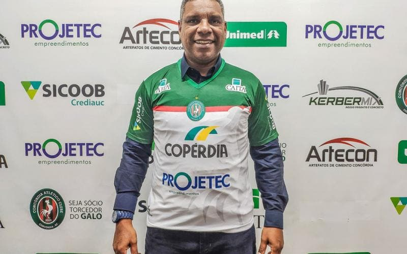 Celso Rodrigues, novo técnico do Concórdia