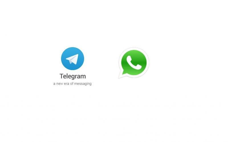 Telegram e WhatsApp