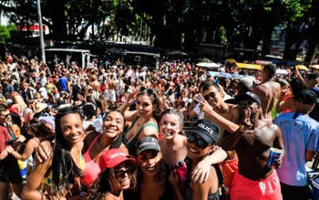 Folia tomou conta das ruas do Centro