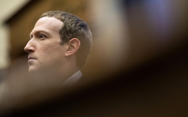 Mark Zuckerberg, executivo-chefe do Facebook