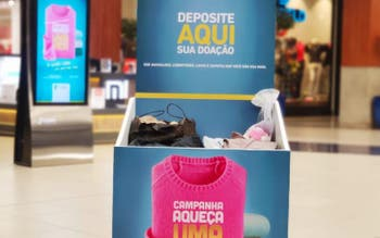 Campanha do Agasalho do Floripa Shopping