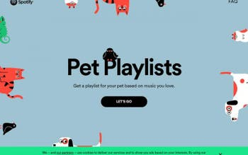 Pet pode ter playlist personalizada no app