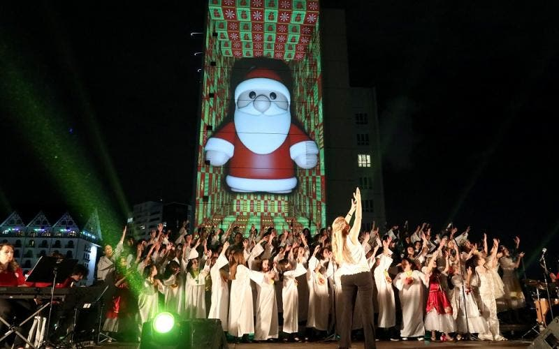 Chegada do Natal Shopping Mueller 2019