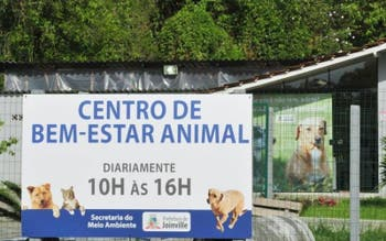 Sede do Centro de Bem-estar Animal de Joinville