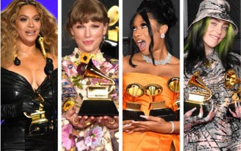 Beyoncé, Taylor Swift, Megan Thee Stallion e Billie Eilish são destaques do Grammy 2021