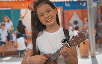 Catarinense de 11 anos entra para o time Carlinhos Brown no The Voice Kids