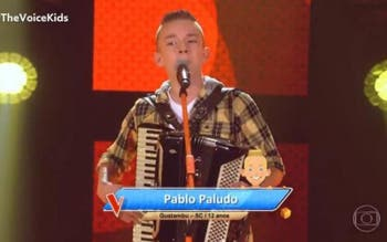 The Voice Kids: catarinense de Guatambu é aprovado na primeira fase