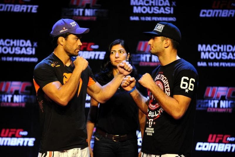 Lyoto Machida e Gegard Mousasi