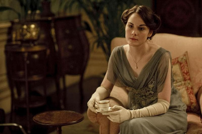 Michelle Dockery como Lady Mary Crawley