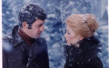 Jean-Paul Belmondo e Catherine Deneuve em A Sereia do Mississipi