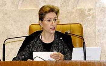 A ex-ministra do STF Ellen Gracie